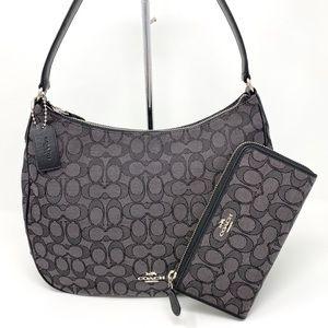 NWT Coach Shoulder Bag & Wallet
